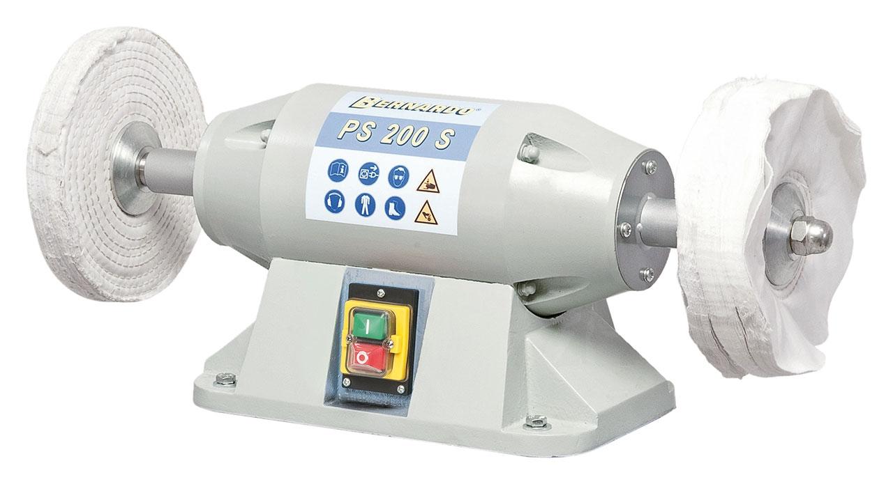 Szlifierka - polerka do gratowania, polerowania PS 200 S - 230 V BERNARDO