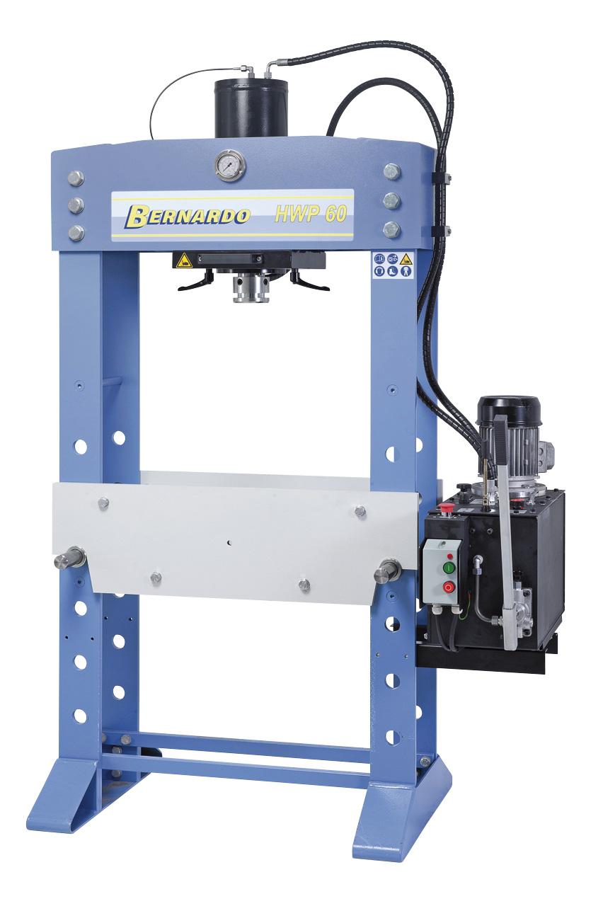 Hydrauliczna prasa warsztatowa HWP 60 * BERNARDO
