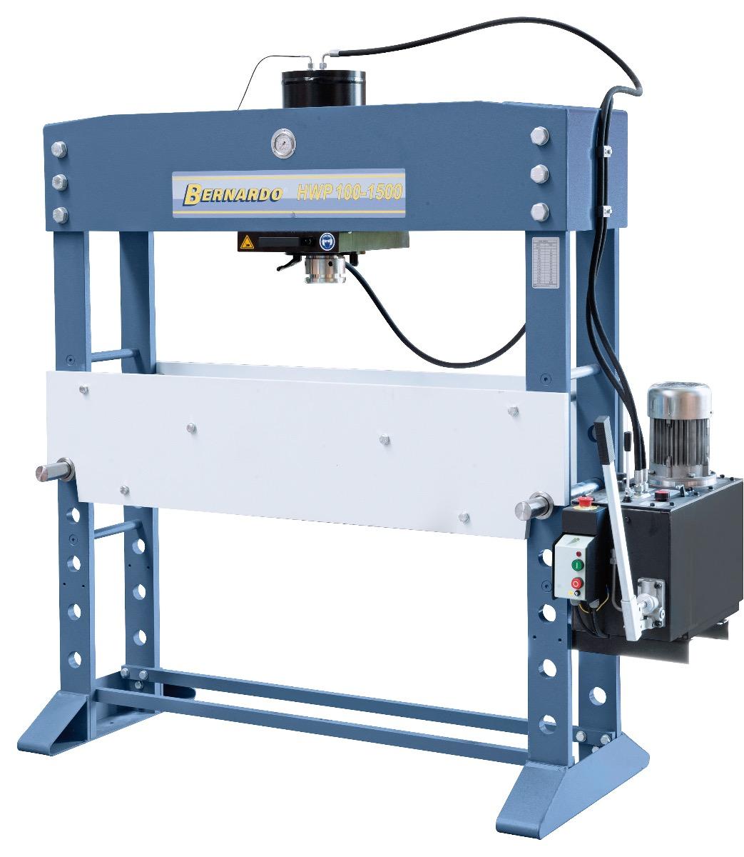 Hydrauliczna prasa warsztatowa HWP 100-1500 * BERNARDO