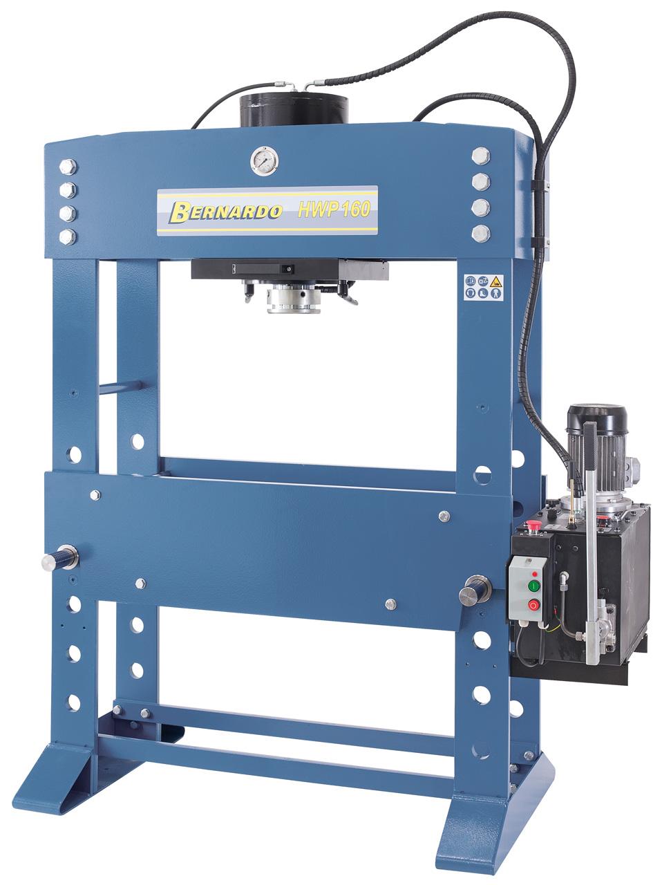 Hydrauliczna prasa warsztatowa HWP 160 * BERNARDO