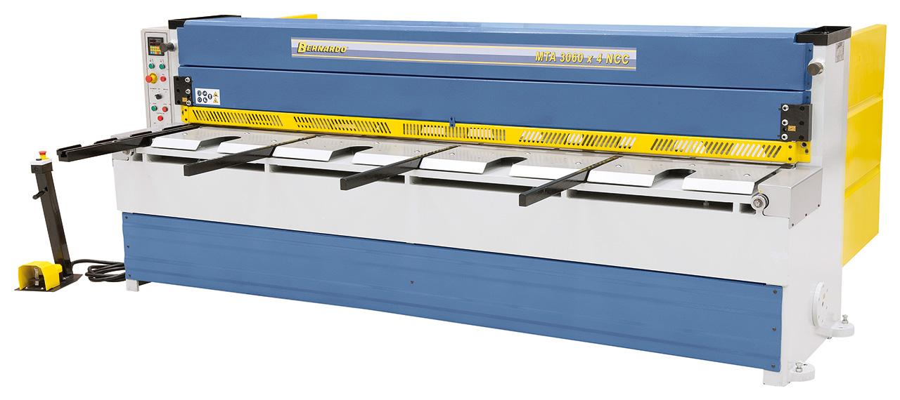 Gilotyna, nożyce gilotynowe mechaniczne MTA 3060 x 4 NCC * BERNARDO