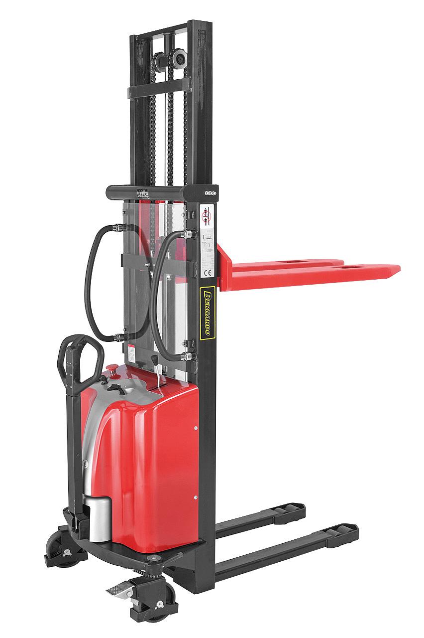 Elektryczny wózek paletowy - masztowy wysokiego podnoszenia EHS 1500 - 1.6 * BERNARDO