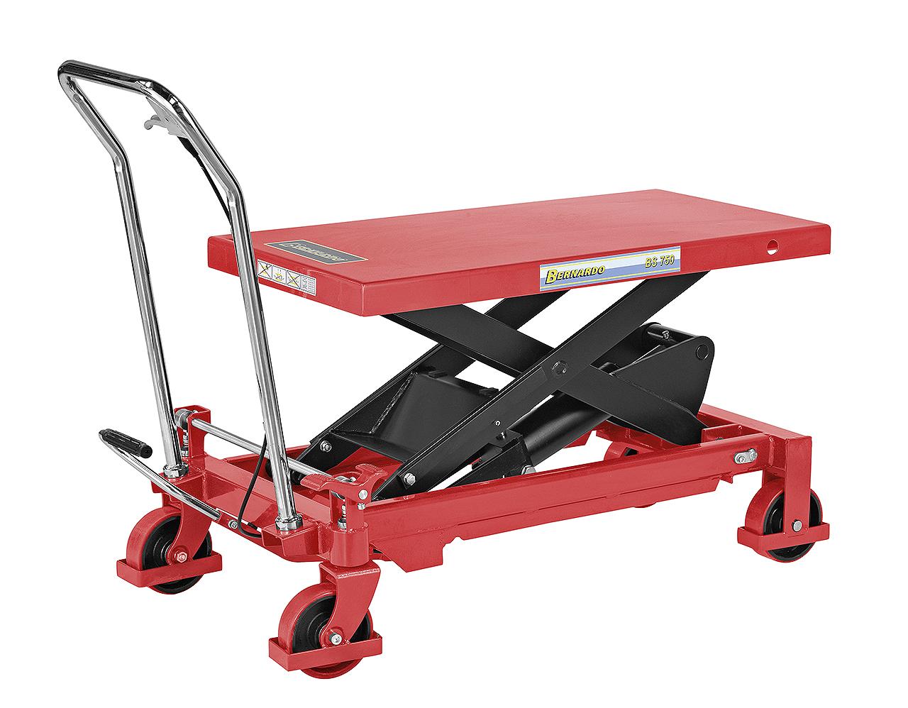 Platforma podnośnikowa z wózkiem jezdnym BS 750 BERNARDO