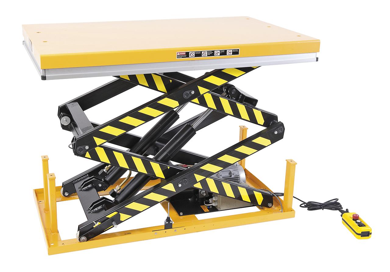 Platforma podnośnikowa - stół podnośny nożycowy SSHT 1000 D BERNARDO