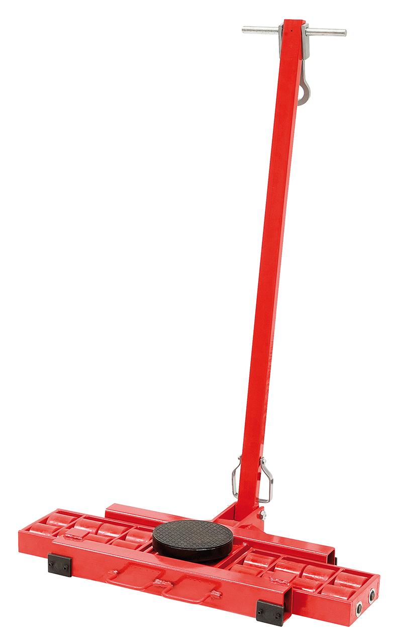 Podnośnik z wózkiem do ciężkich maszyn, materiałów STF 16 N BERNARDO