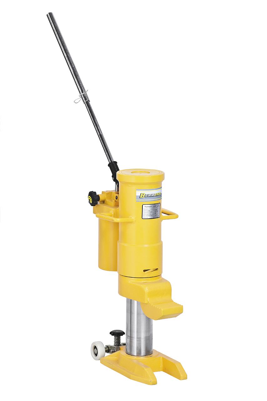 Podnośnik hydrauliczny do ciężkich materiałów, maszyn HM 250 BERNARDO