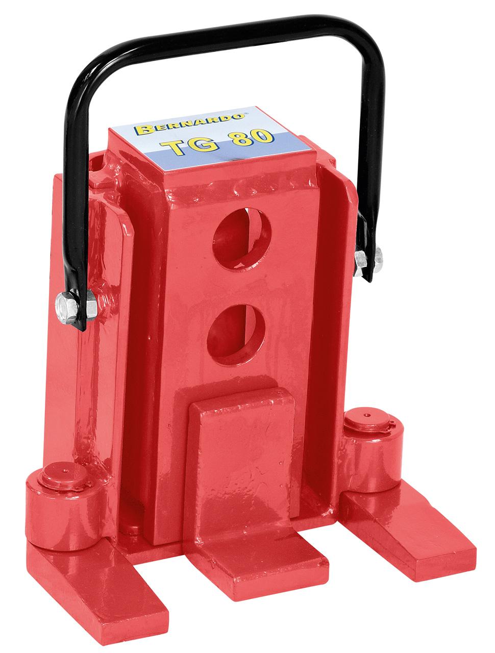 Podnośnik hydrauliczny do ciężkich materiałów, maszyn TG 80 BERNARDO