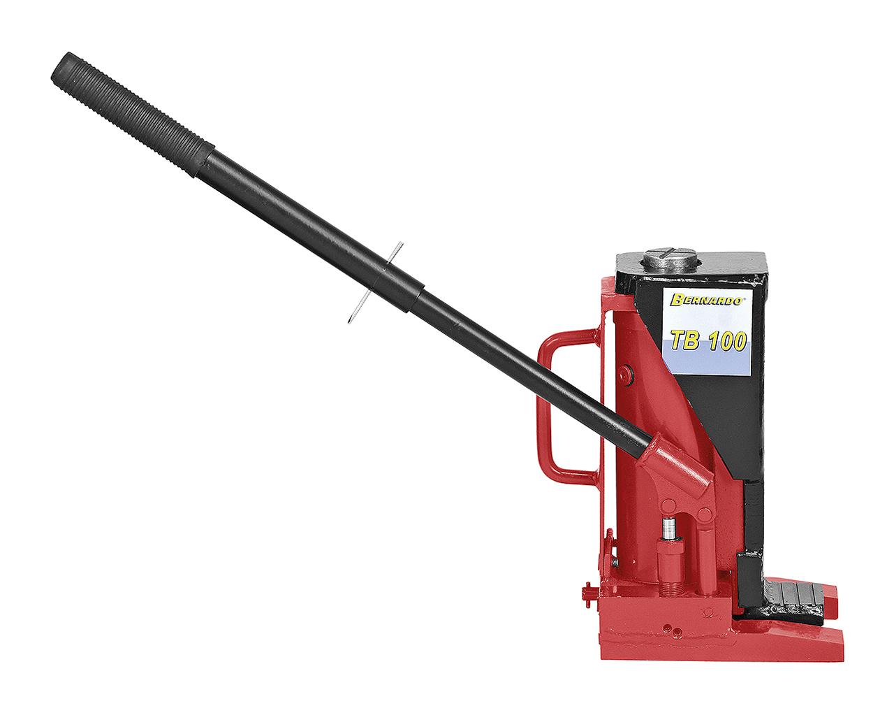 Podnośnik hydrauliczny do ciężkich materiałów, maszyn TB 100 BERNARDO