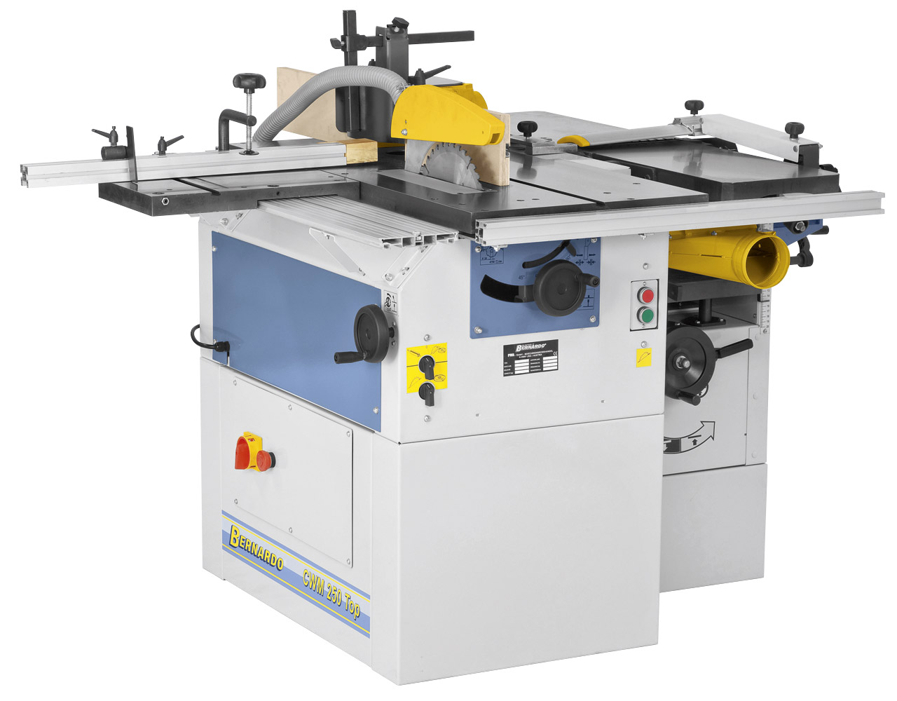 Uniwersalna maszyna wieloczynnościowa CWM 250 Top - 230 V * BERNARDO
