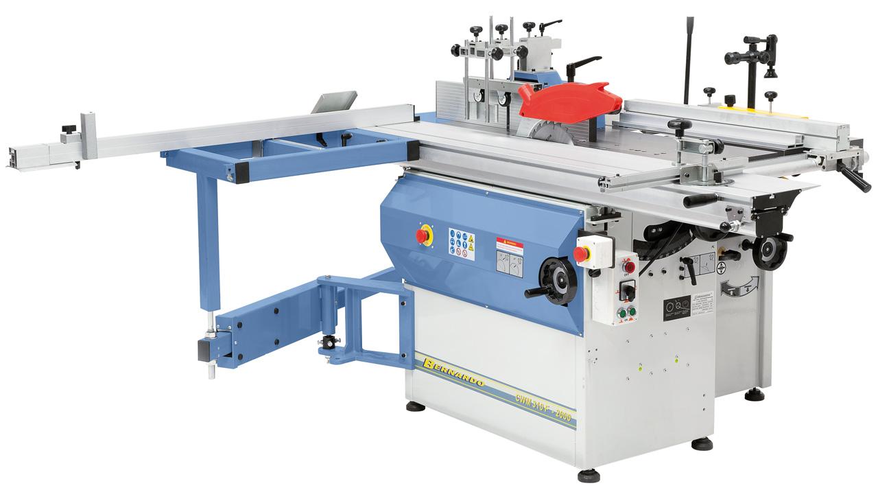 Uniwersalna maszyna wieloczynnościowa CWM 310 F - 2000 * BERNARDO