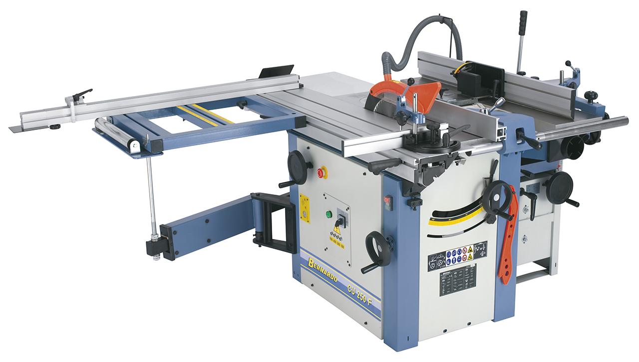 Uniwersalna maszyna wieloczynnościowa CU 250 F - 1600 - 400 V * BERNARDO