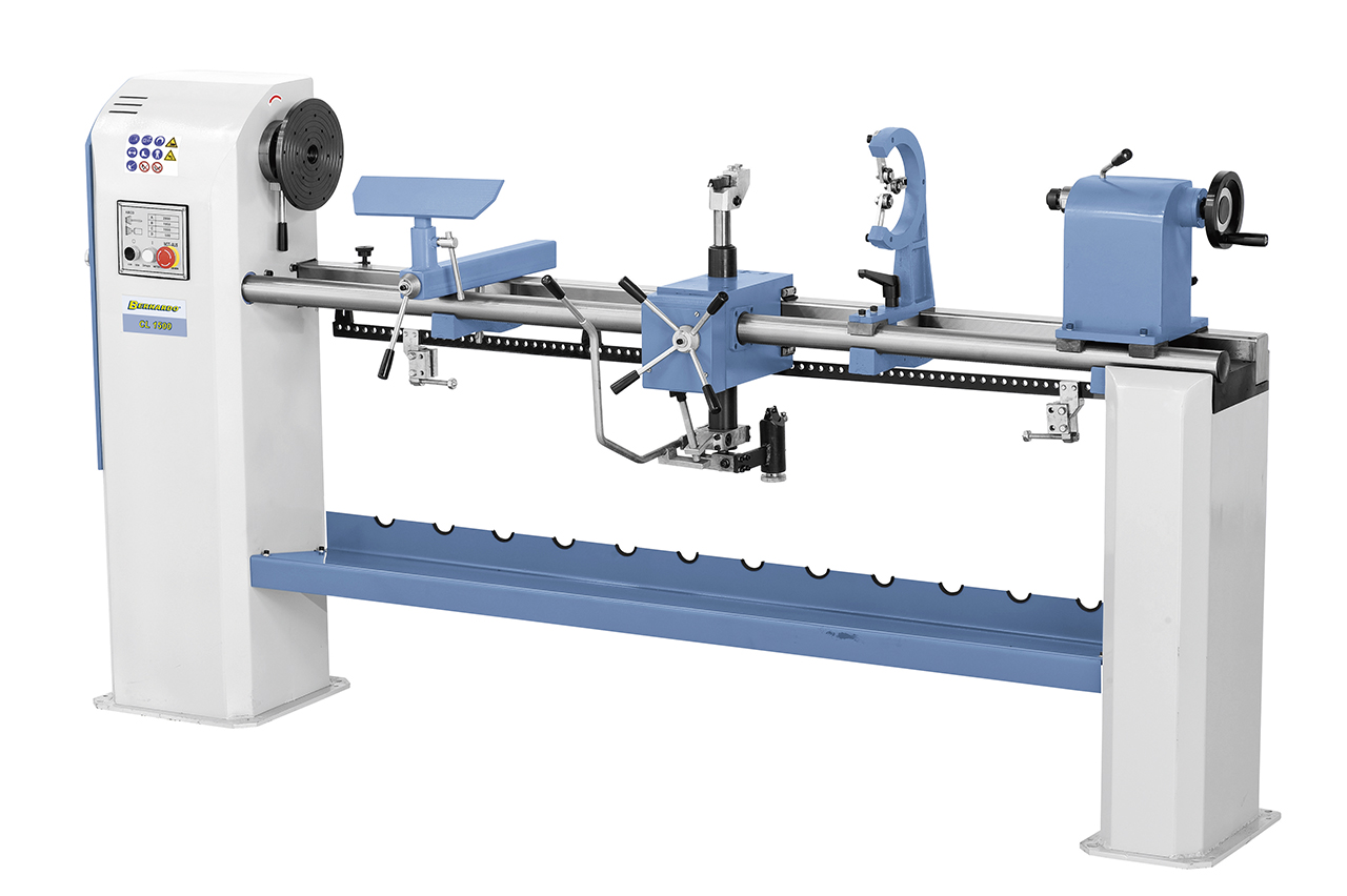 Tokarka z kopiarką do drewna CL 1500 - 400 V * BERNARDO