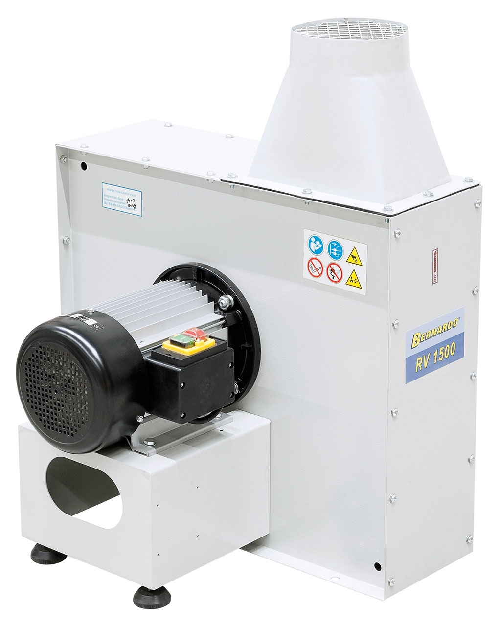 Wentylator promieniowy RV 1500 BERNARDO