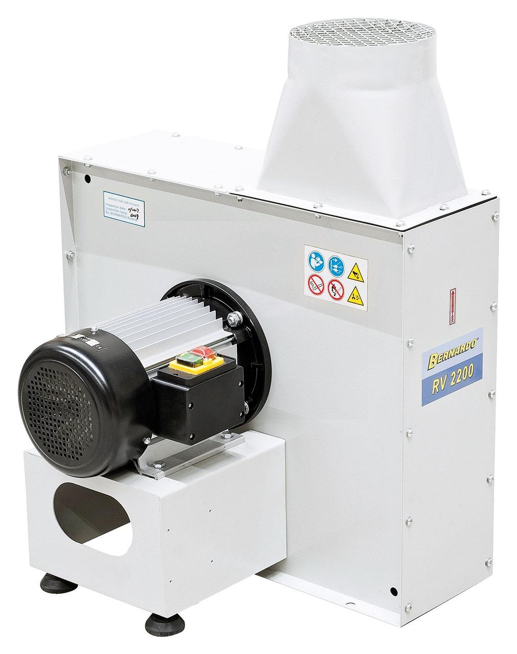 Wentylator promieniowy RV 2200 BERNARDO