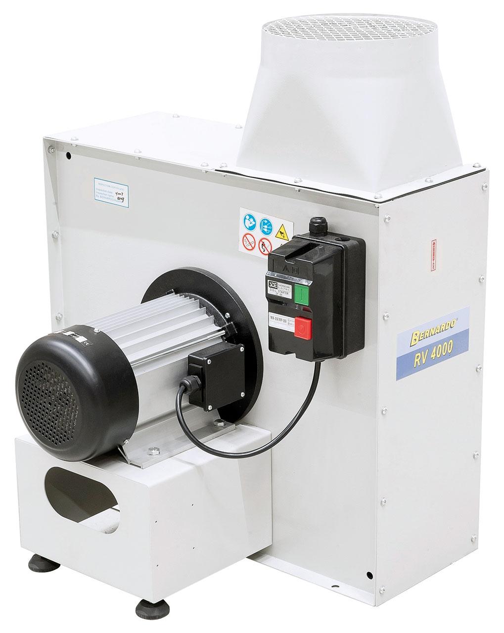 Wentylator promieniowy RV 4000 BERNARDO