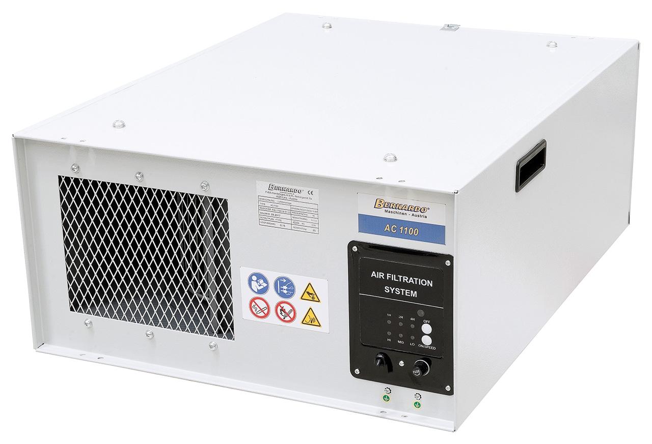 Filtr powietrza, urządzenie odpylające - oczyszczające AC 1100 BERNARDO