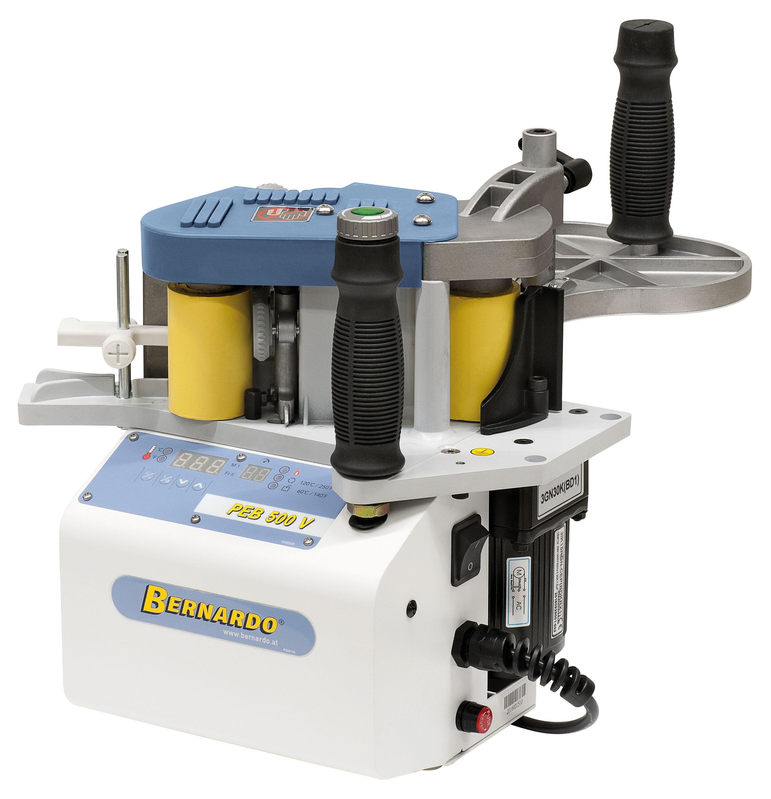Okleiniarka ręczna - przenośna PEB 500 V-S BERNARDO