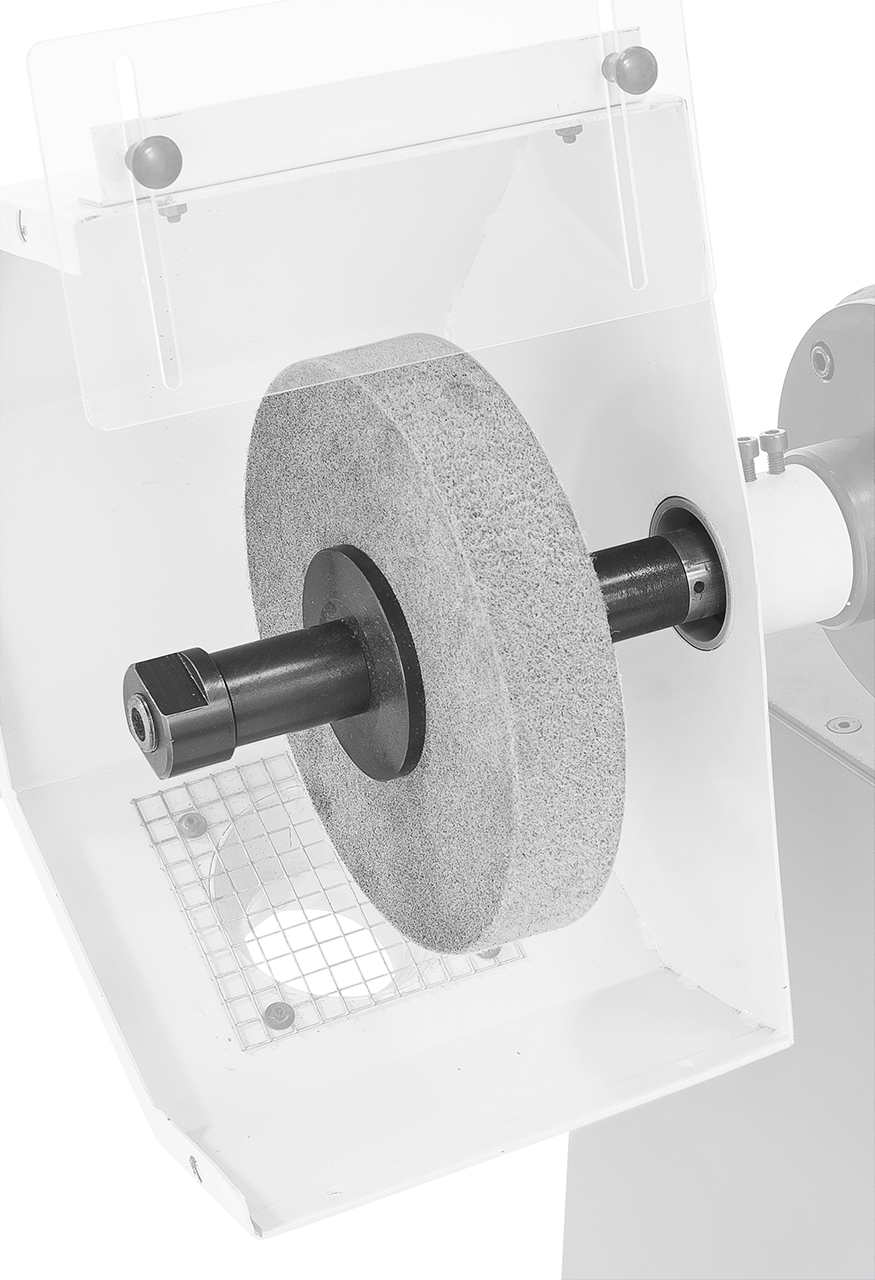 Wełniany dysk szlifierski Ø 250 x 50 mm, Ø 35 mm BERNARDO