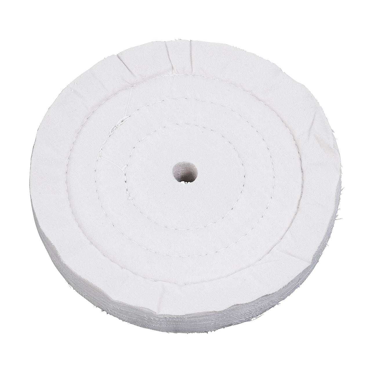 Tarcza polerska z moltonu pikowana Ø 200 x 20 mm, Ø 16 mm BERNARDO