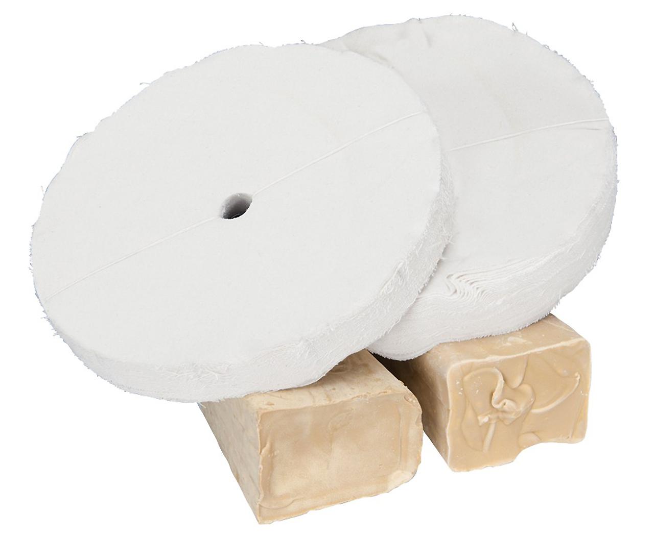 Zestaw polerski do drewna Ø 350 x 25 mm, Ø 16 mm, 4-szt. BERNARDO