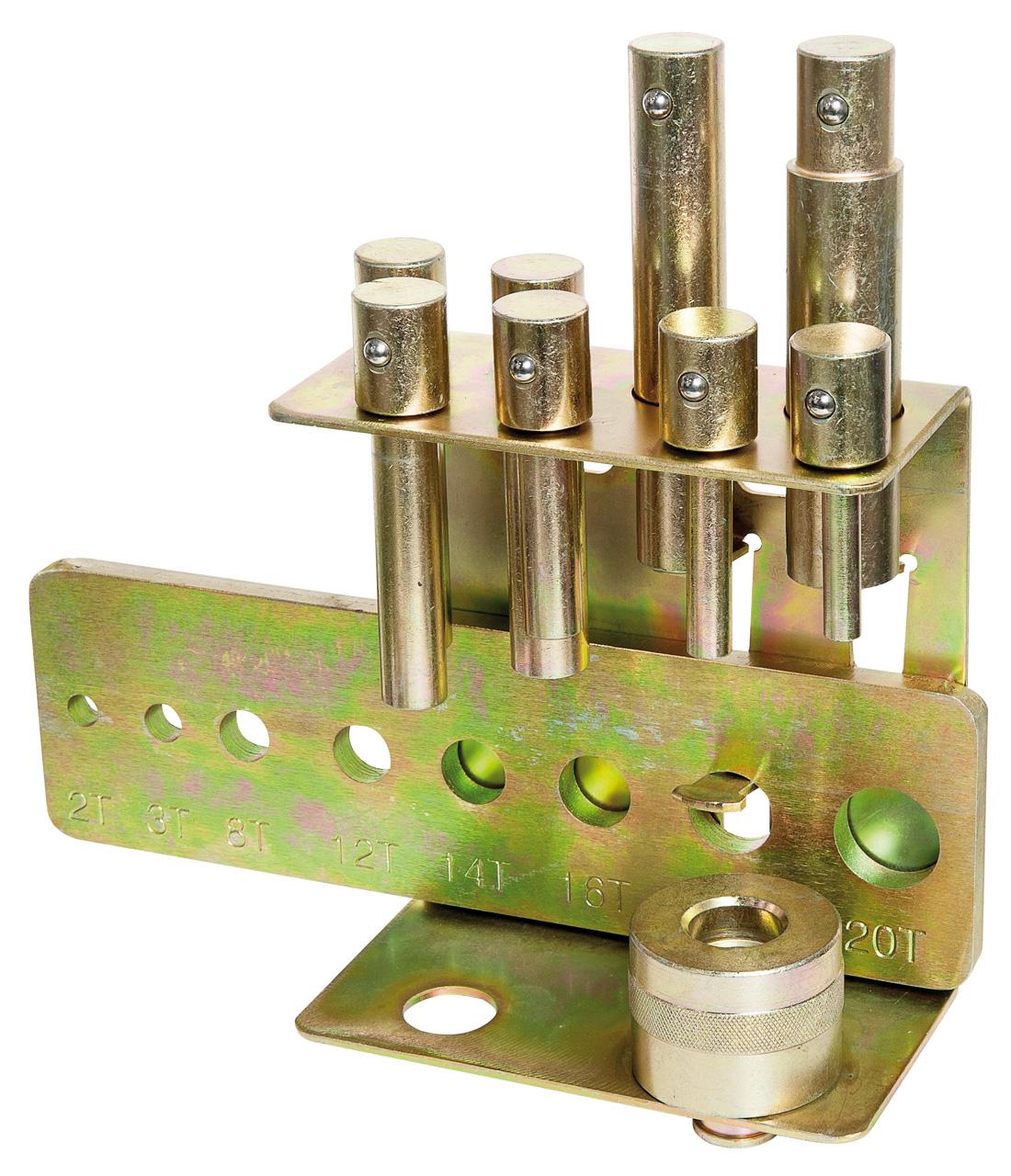Zestaw wybijaków do prasy 10 elementowy (10-30 mm) (2-20 TON) BERNARDO