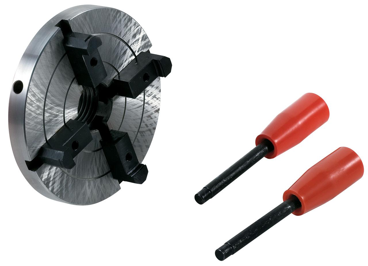 Uchwyt tokarski 4-szczękowy 125 mm / M 33 x 3,5 mm BERNARDO
