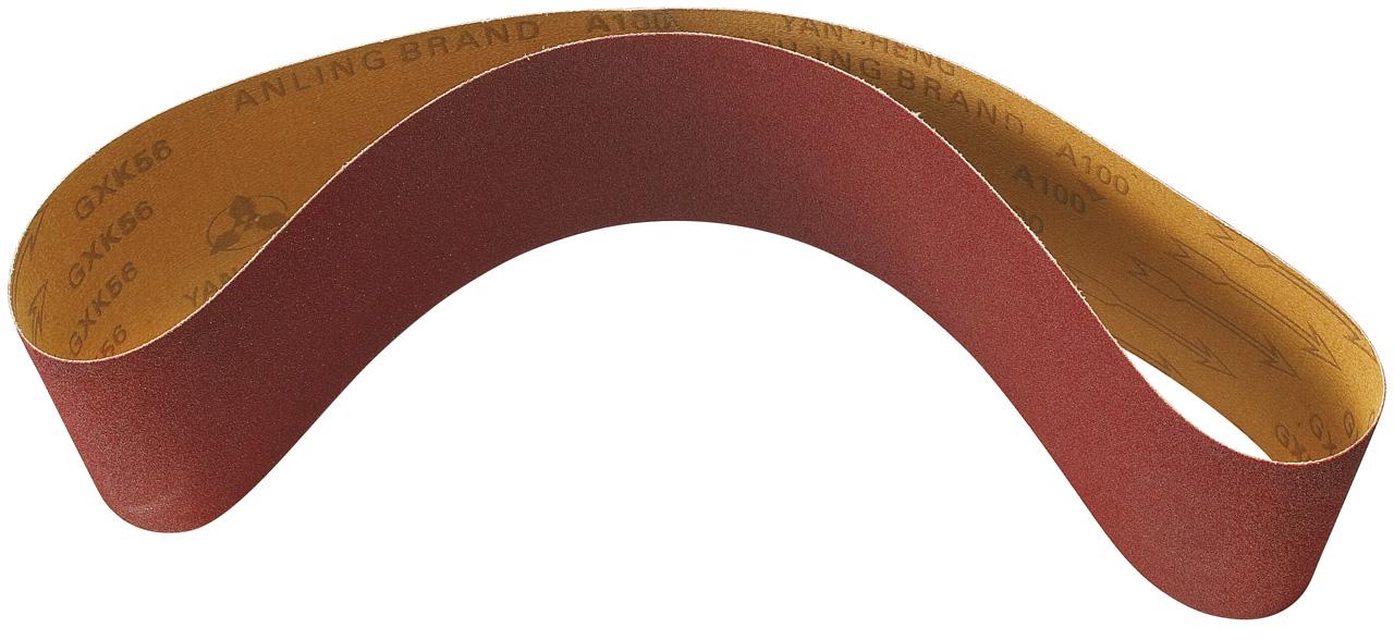 Papier taśma szlifierska 1220 x 150 mm - G 80 / 100 / 150 / 180 (każdej po 2 sztuki.) BERNARDO