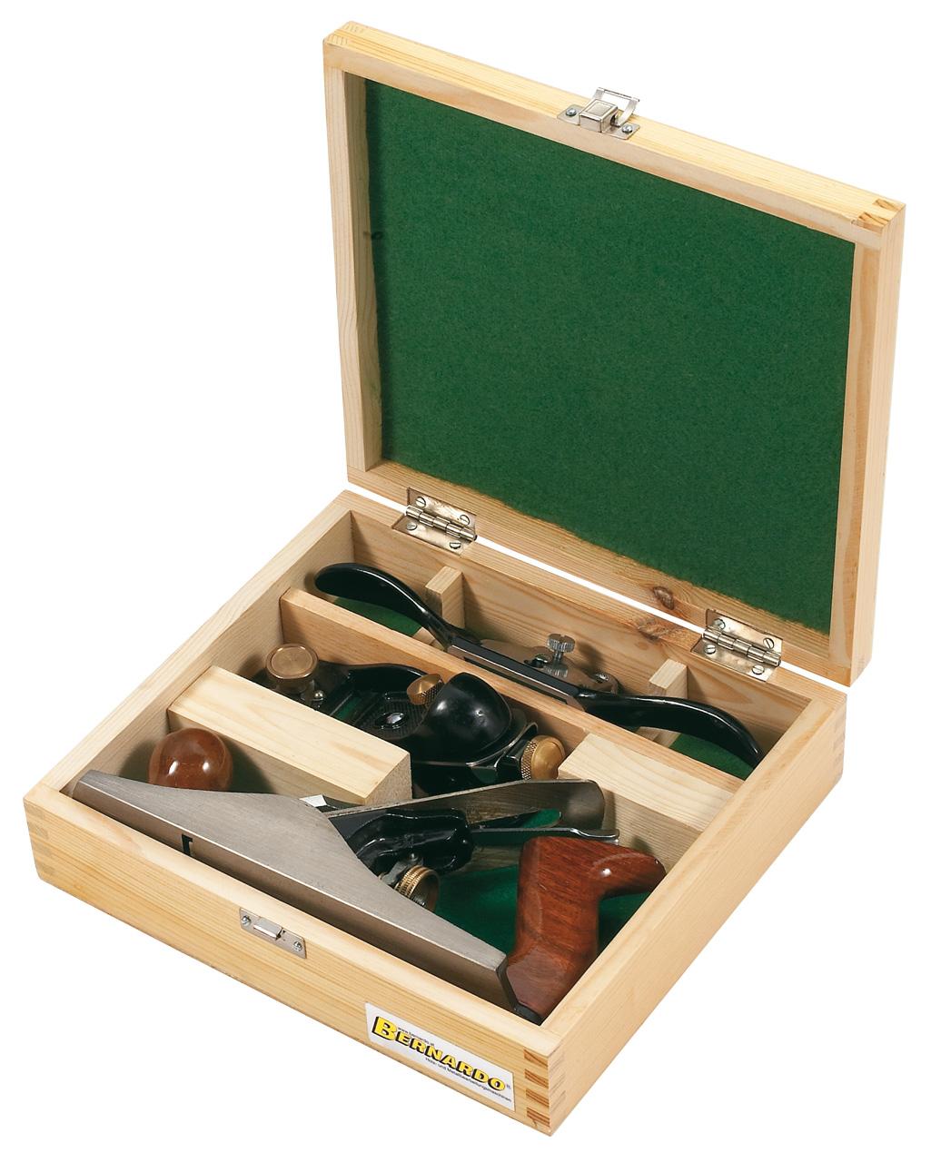 Zestaw narzędzi ręcznych dla stolarzy, 3 szt. BERNARDO
