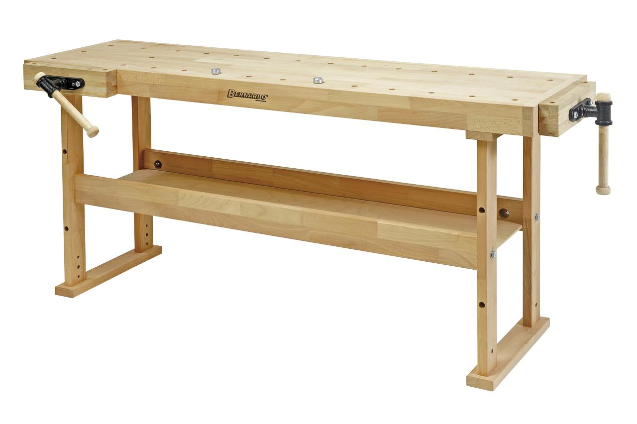 Stół ślusarski, stolarski, warsztatowy, uniwersalny WB 2000 HOBBY BERNARDO