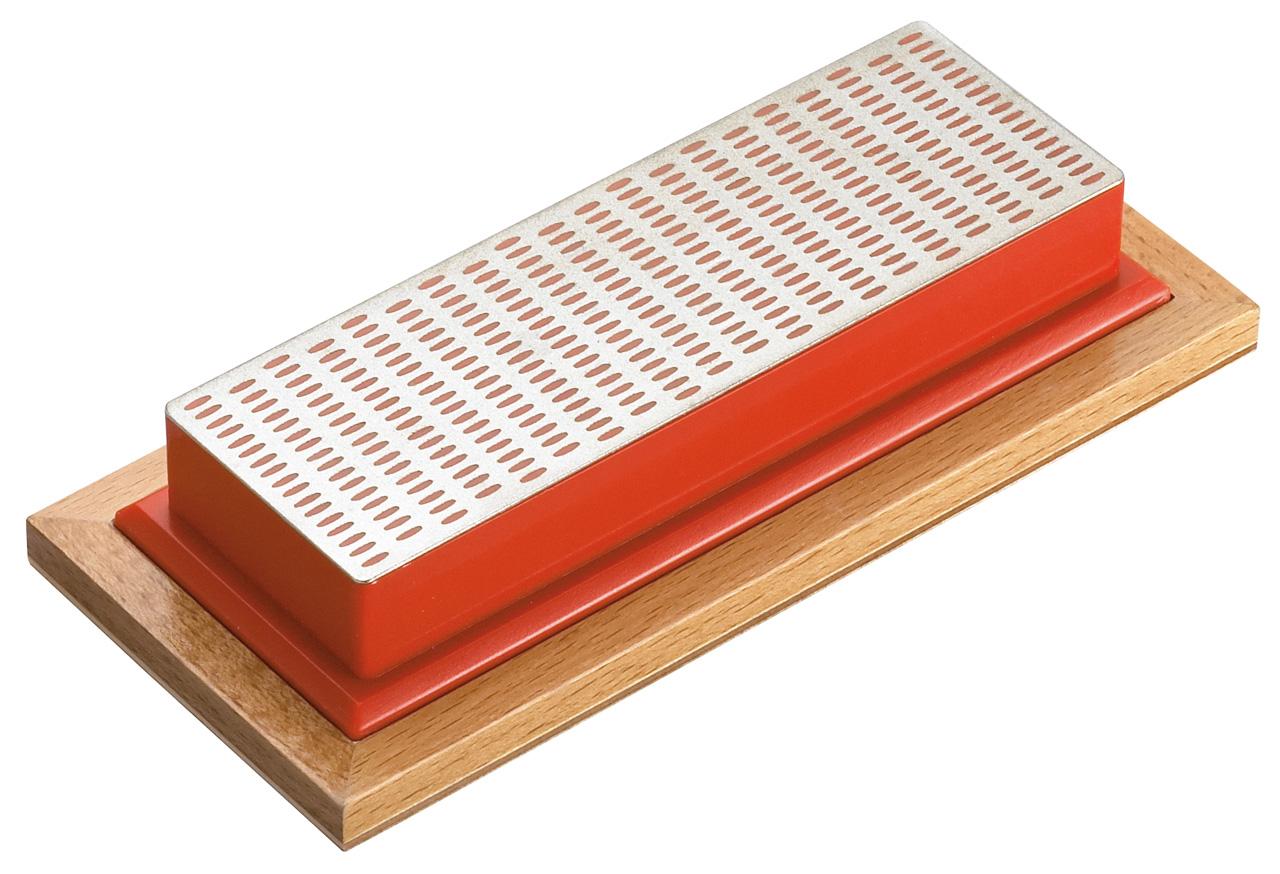 Kamień do ostrzenia diamentowy drobny ( czerwony ) BERNARDO