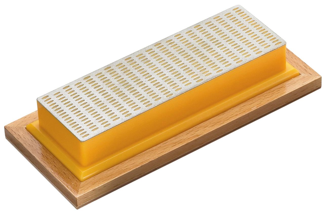 Kamień do ostrzenia diamentowy średni ( żółty ) BERNARDO