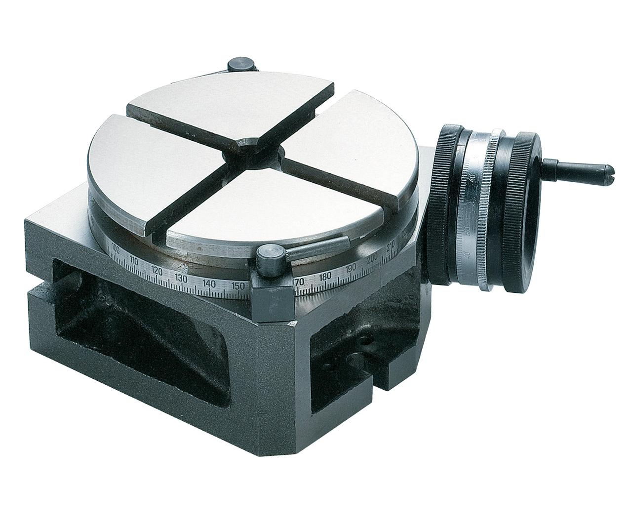 Stół okrągły pionowy i poziomy RT 5 - 125 mm BERNARDO