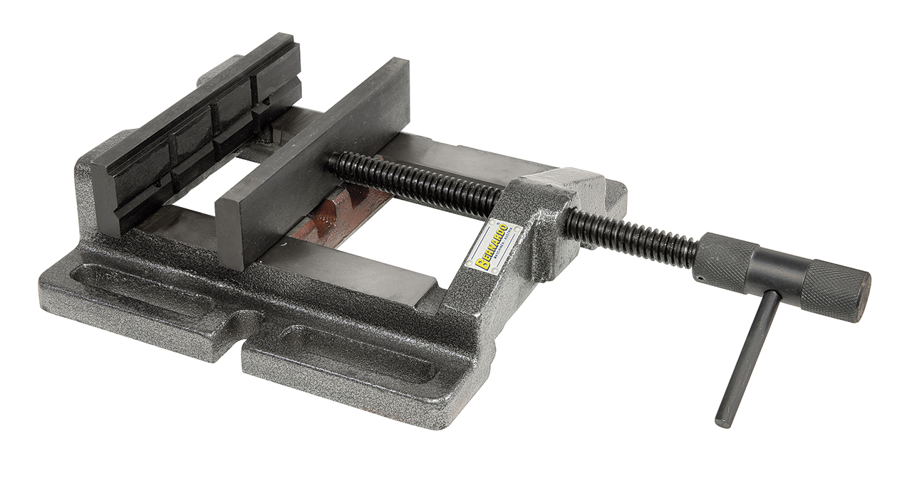 Imadło wiertarskie maszynowe BM 200 ze szczękami pryzmowymi BERNARDO
