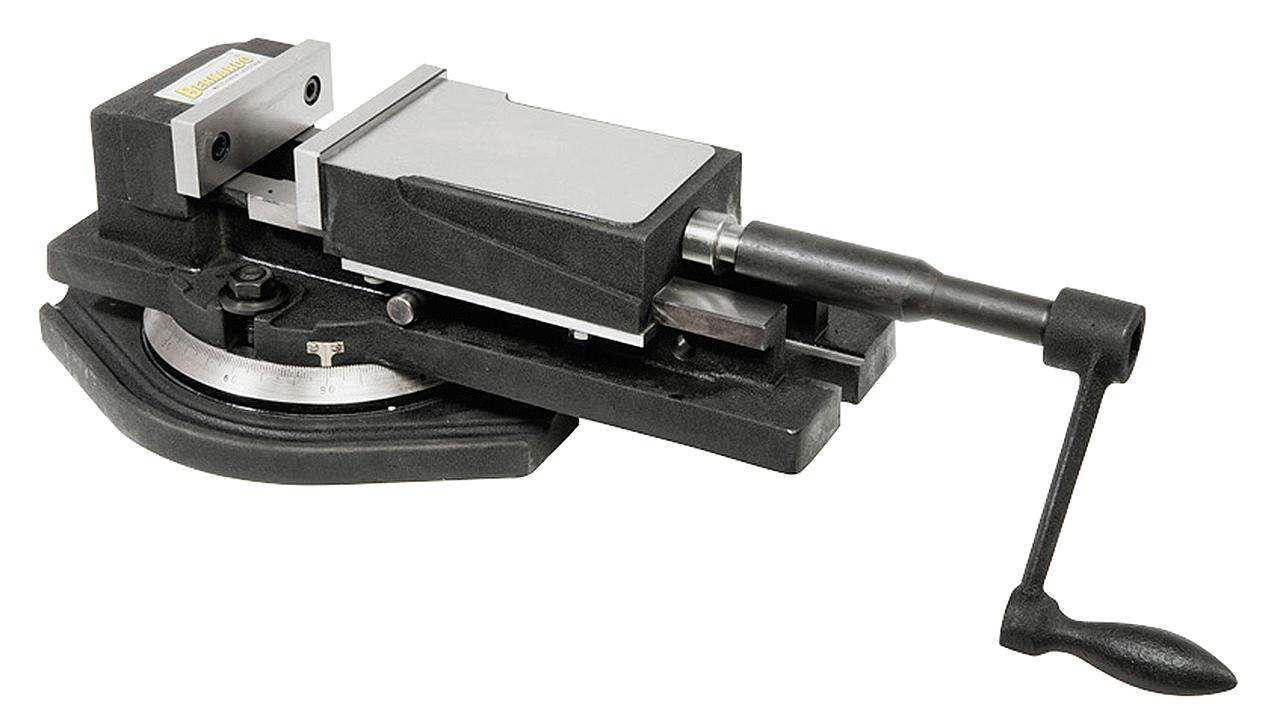 Imadło maszynowe śrubowe z szerokim mocowaniem FJ 100 BERNARDO