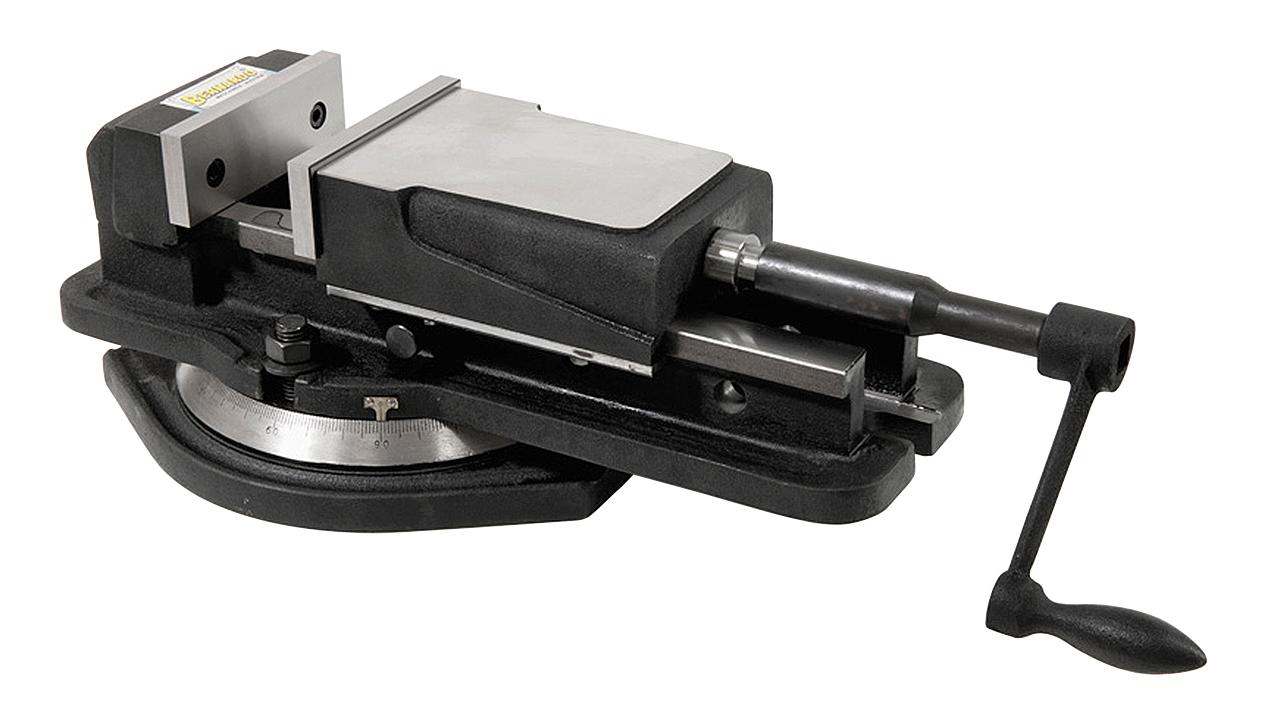 Imadło maszynowe śrubowe z szerokim mocowaniem FJ 125 BERNARDO