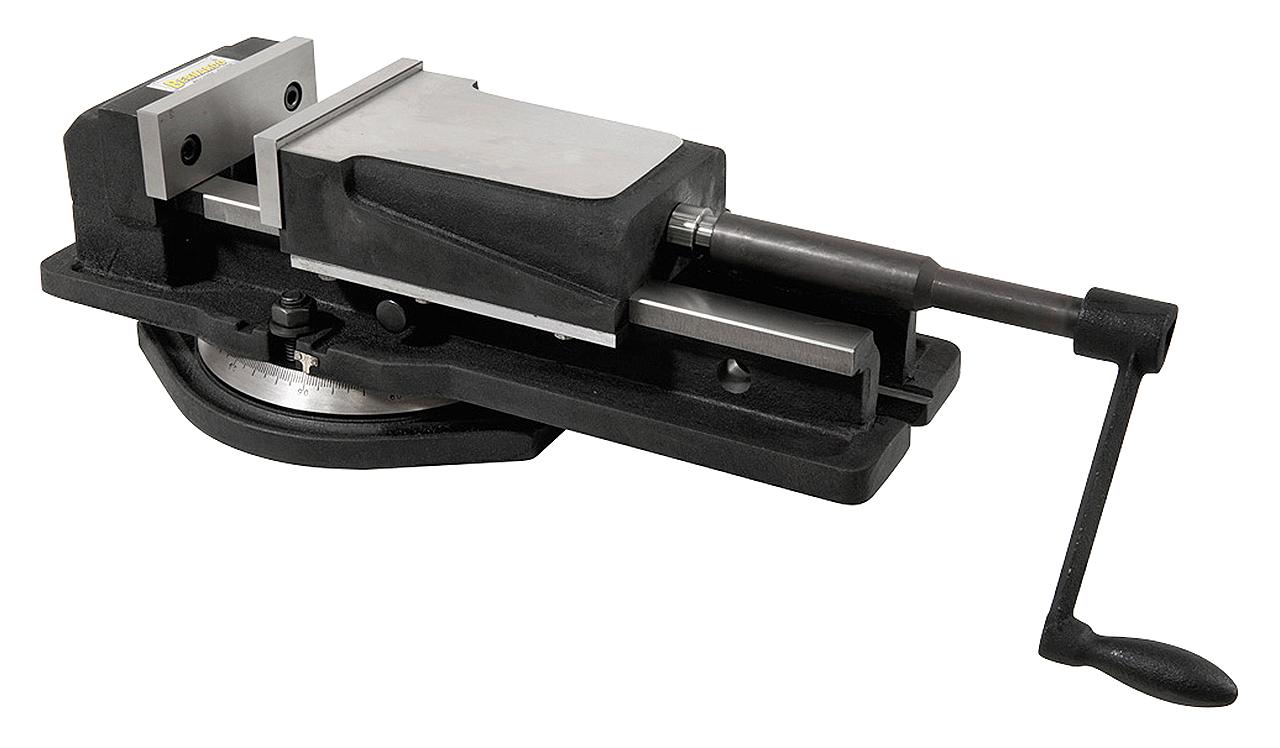 Imadło maszynowe śrubowe z szerokim mocowaniem FJ 150 BERNARDO
