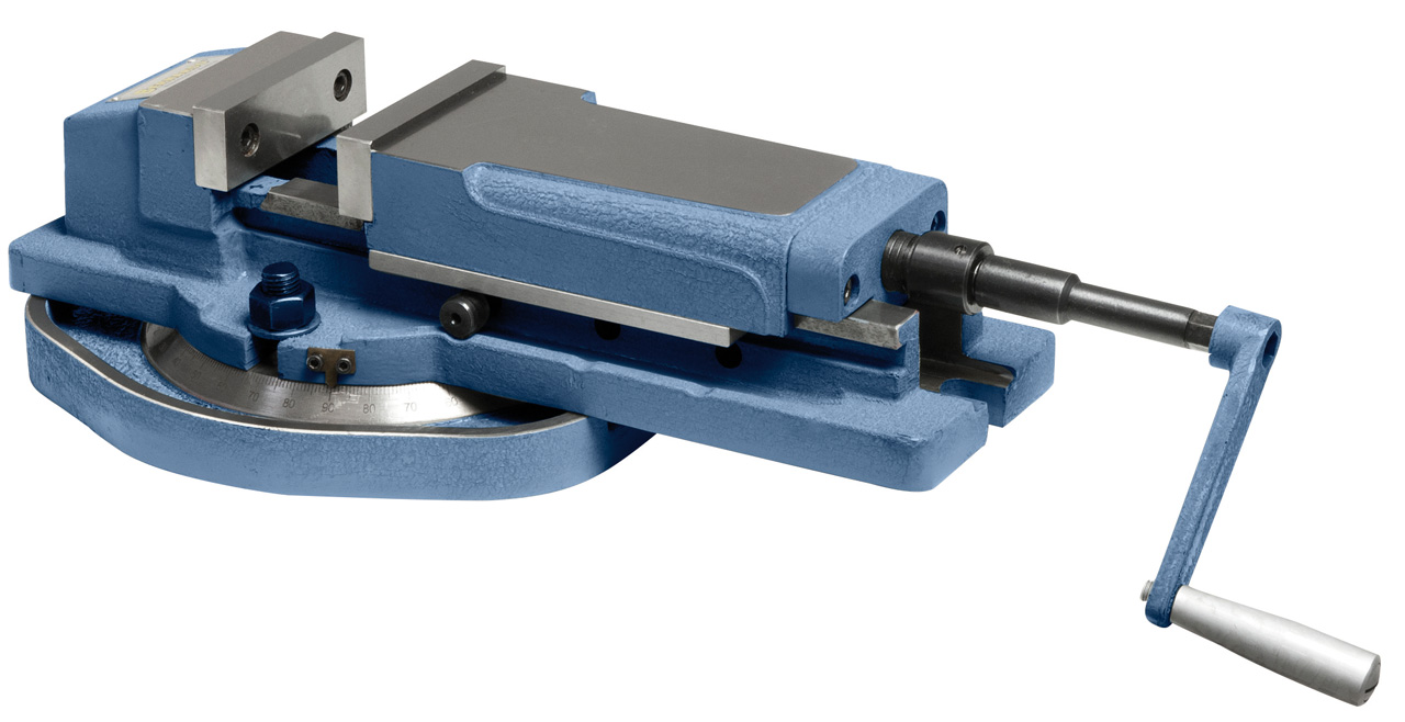 Imadło hydrauliczne maszynowe odchylane VH 100 BERNARDO