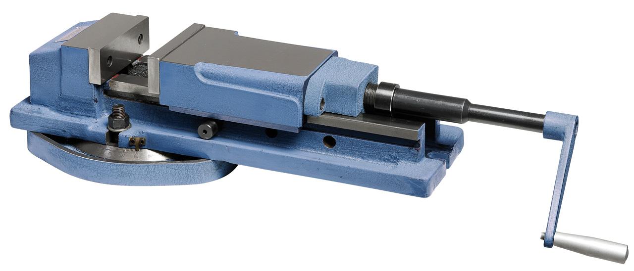 Imadło hydrauliczne maszynowe odchylane VH 125 BERNARDO