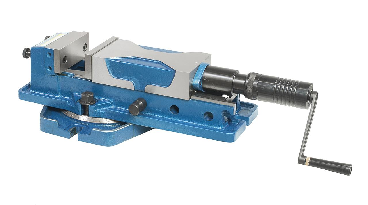 Wysokociśnieniowe imadło maszynowe śrubowe z tarczą PHV 130 BERNARDO