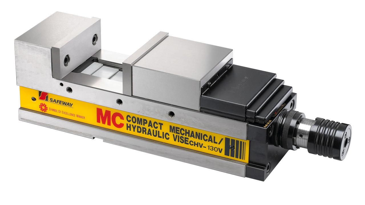Mechaniczne imadło maszynowe śrubowe CHV 130 V BERNARDO