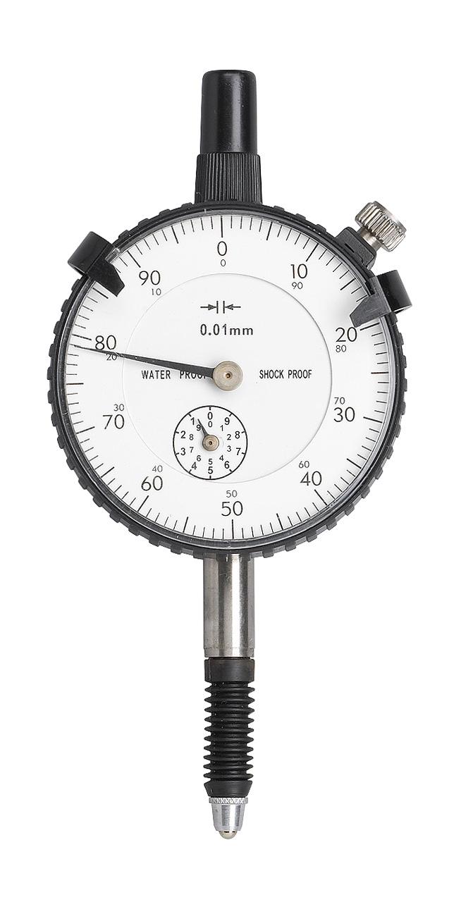 Czujnik zegarowy 10 mm x 0,01 mm, staubgeschützt / DIN 878 BERNARDO