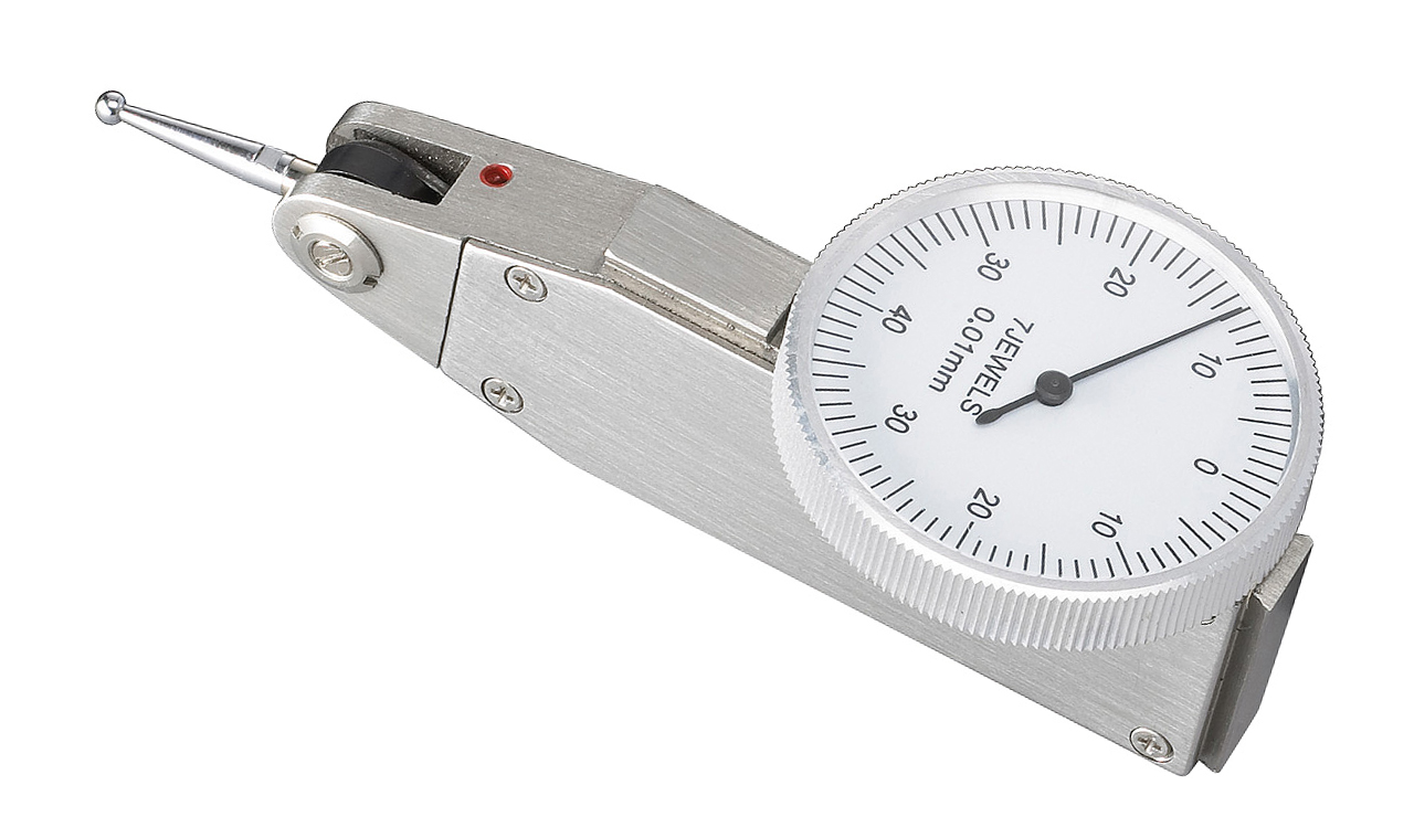 Precyzyjny czujnik zegarowy do równości i odchyłów 0 - 0,8 mm x 0,01 mm BERNARDO