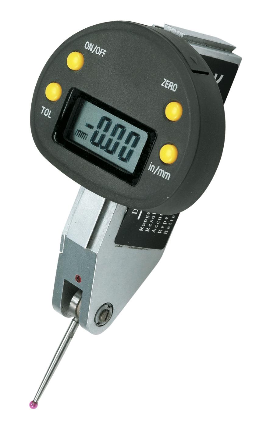 Cyfrowy czujnik zegarowy do równości i odchyłów 0 - 0,5 mm x 0,01 mm BERNARDO