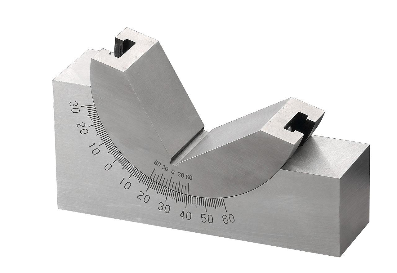 Precyzyjna pryzma kątowa 0 - 60° / 30 x 48 x 102 mm BERNARDO