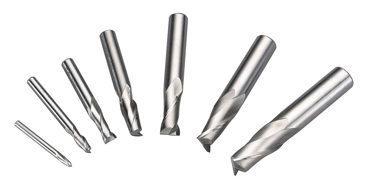 Frezy, zestaw frezów palcowych 4 - 16 mm, 7 szt. HSS BERNARDO