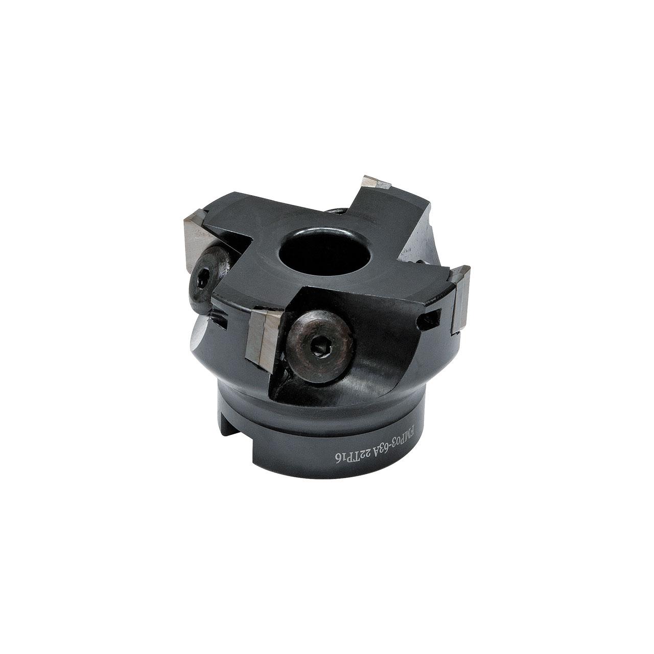 Frez walcowy z wymiennymi płytkami 90° - rozmiar 125 mm / B 40 mm BERNARDO