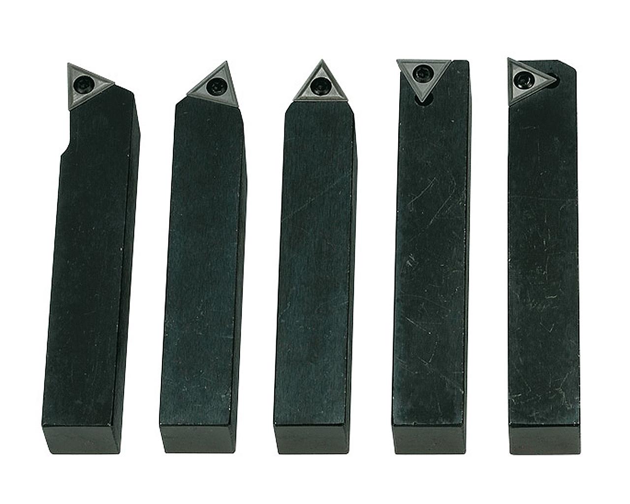 Noże tokarskie z płytkami weglikowymi HM, 20 mm,  5 szt. BERNARDO