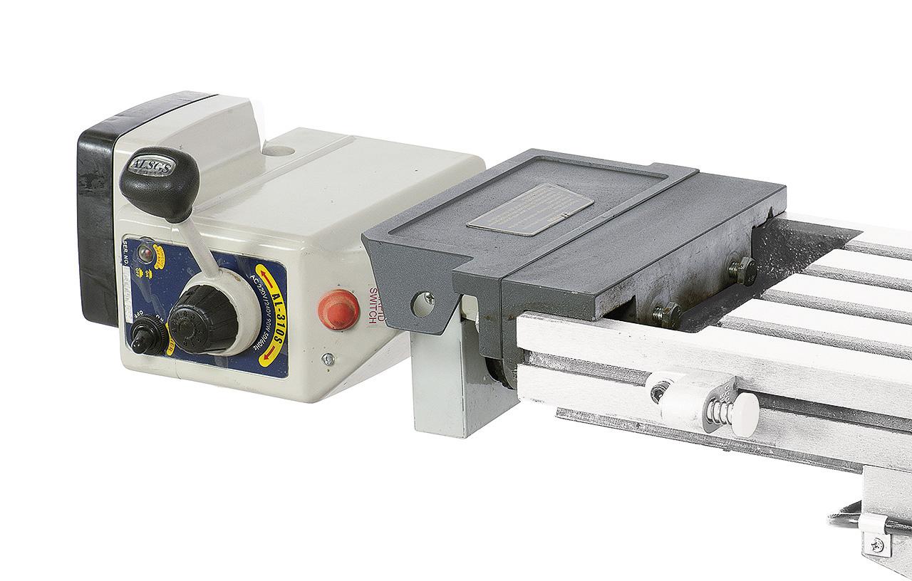 Automatyczny posuw AL 500 D do osi X z transformatorem BERNARDO