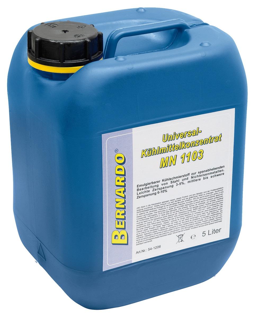 Płyn chłodzący olej emulgujący - emulgol MN 1103 - 5l BERNARDO