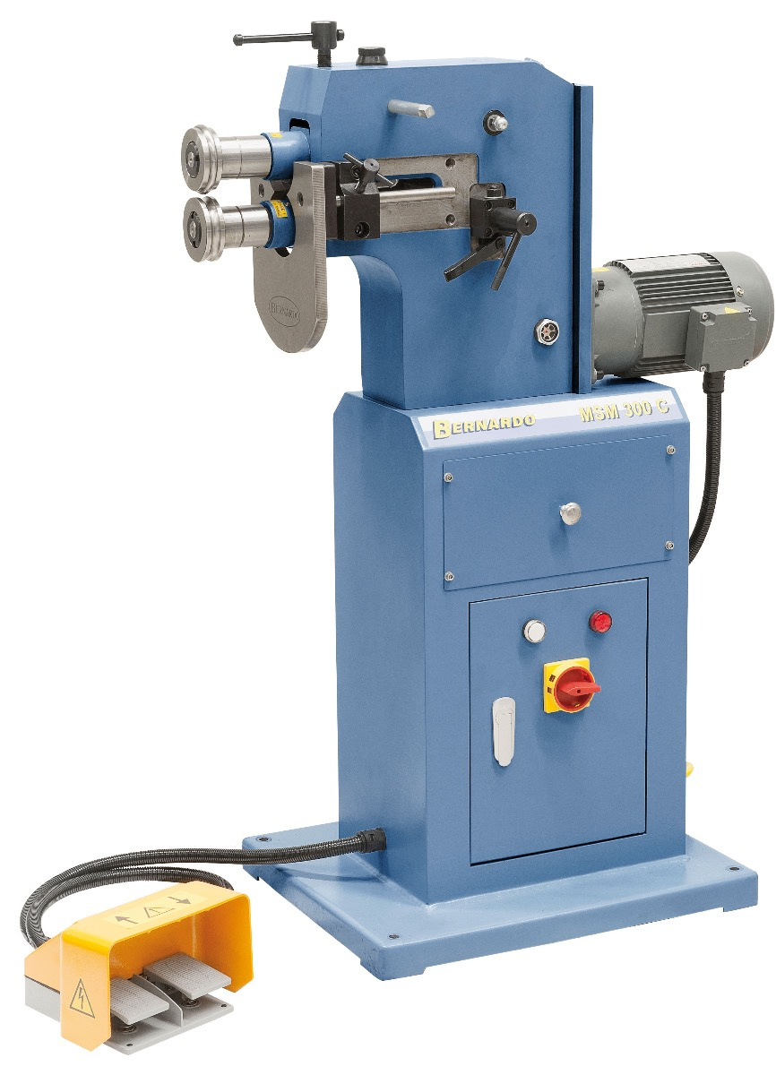Żłobiarka mechaniczna MSM 300 C * BERNARDO